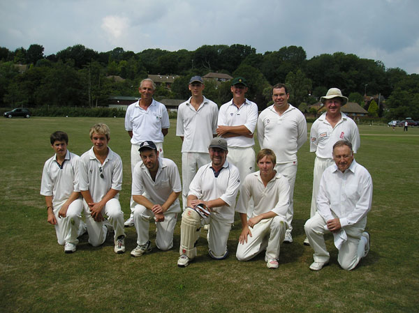 Picture of players of 20 over game